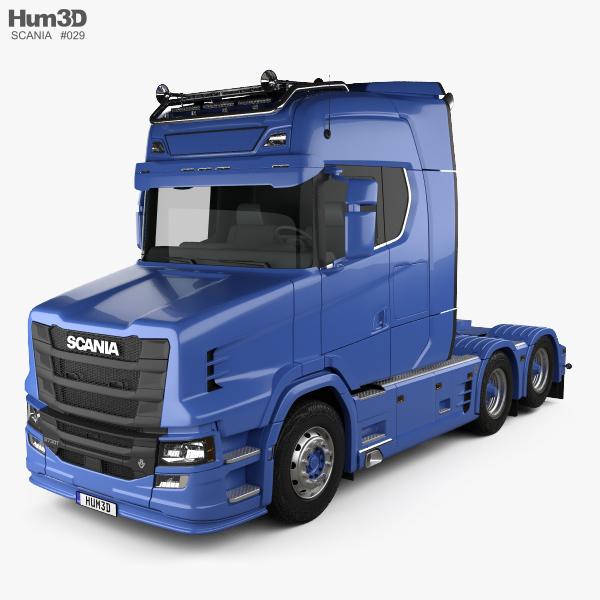 Food Truck Model D Free