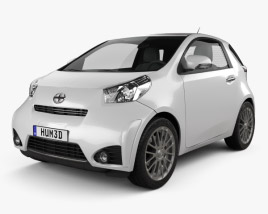 Scion iQ 2012 3D model