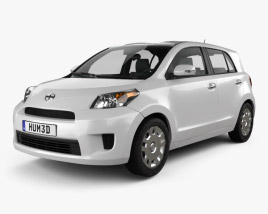 Scion xD 2012 3D model