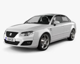 Seat Exeo Sedan 2009 3D model