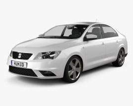 Seat Toledo Mk4 2012 3D model