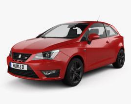 Seat Ibiza Cupra 2016 3D model