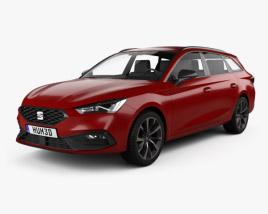 Seat Leon FR sportstourer 2020 3D model