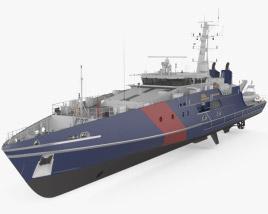 Cape-class patrol boat 3D model