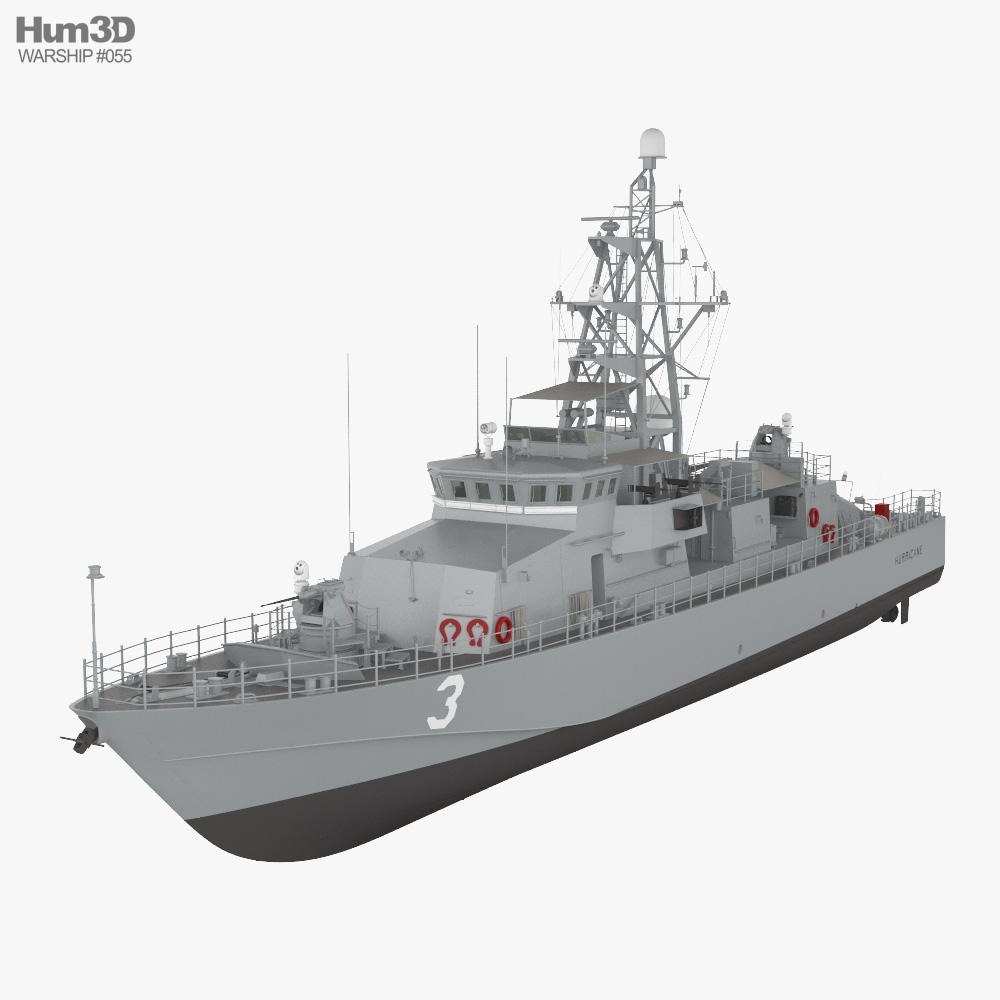 Cyclone-class patrol ship 3d model
