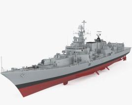 Delhi-class destroyer 3D model
