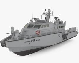 Mark VI patrol boat 3D model