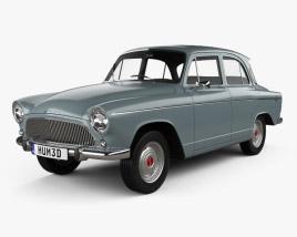 Simca Aronde P60 Elysee 1958 3D model