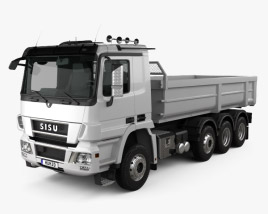 Sisu Polar Tipper Truck 2010 3D model