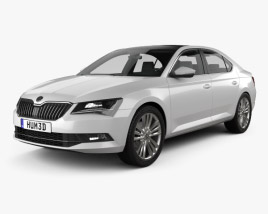 Skoda Superb liftback 2016 3D model