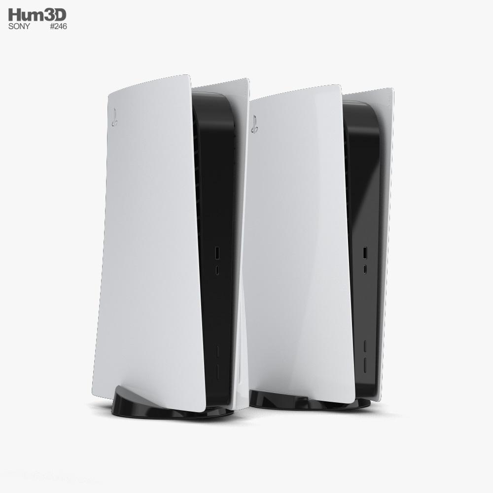 Sony PlayStation 5 3d model
