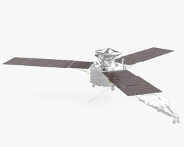 Juno spacecraft 3D model