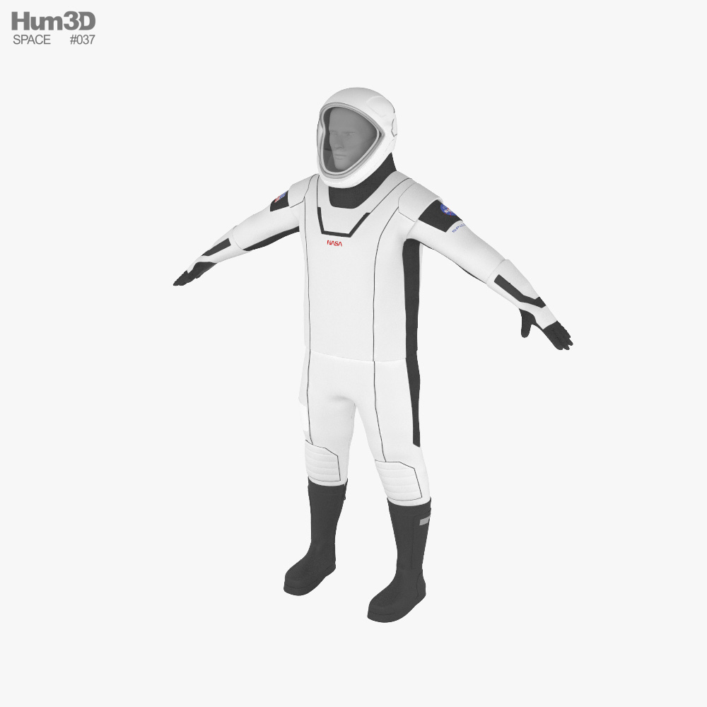 SpaceX Suit 3d model