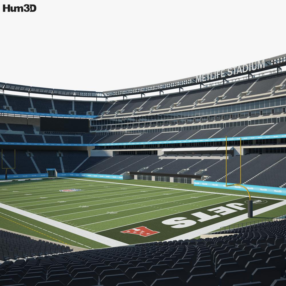 MetLife Stadium 3d model