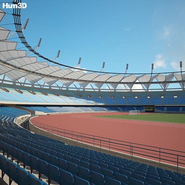 Discount Car Parts >> Jawaharlal Nehru Stadium 3D model - Hum3D