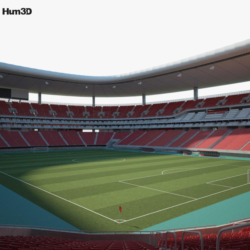 Estadio Chivas 3d model