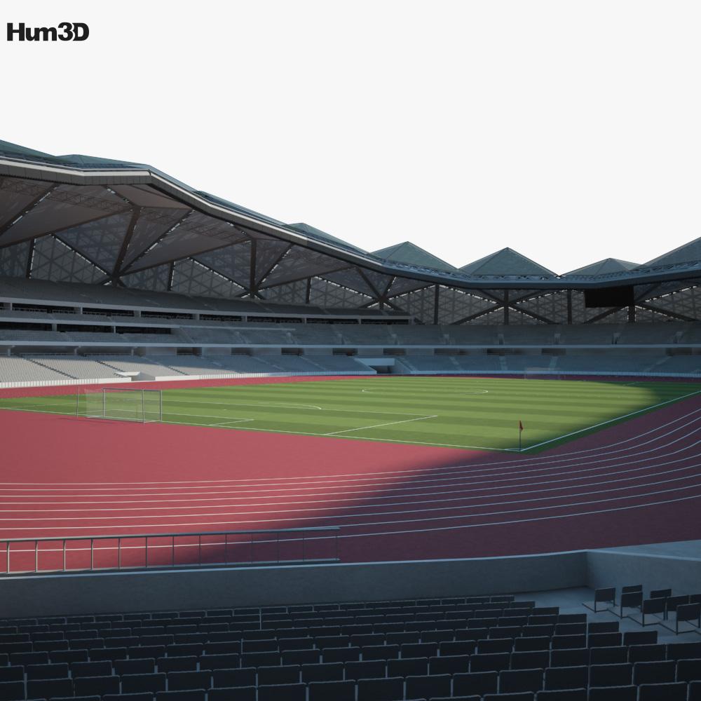 Shenzhen Universiade Sports Centre Stadium 3d model