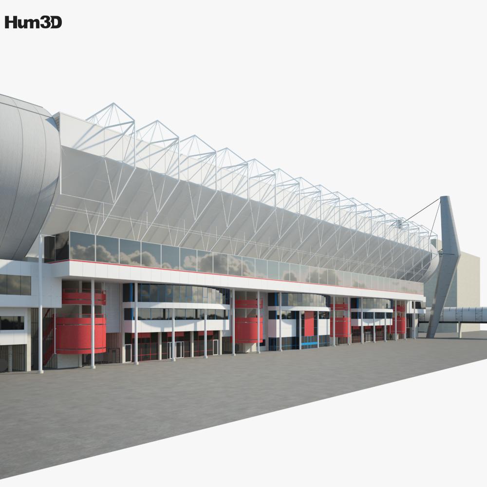 Philips Stadion 3d model