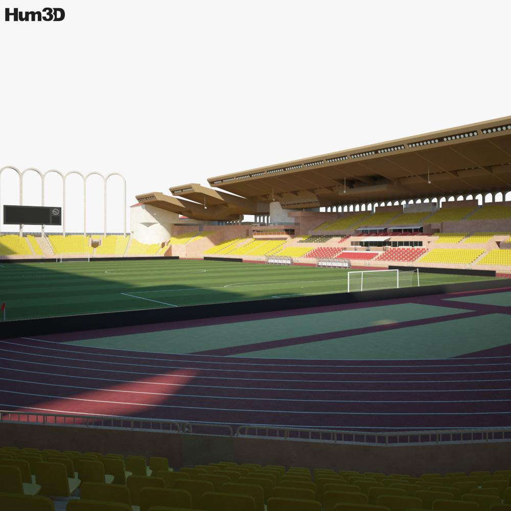 Stade Louis II 3d model
