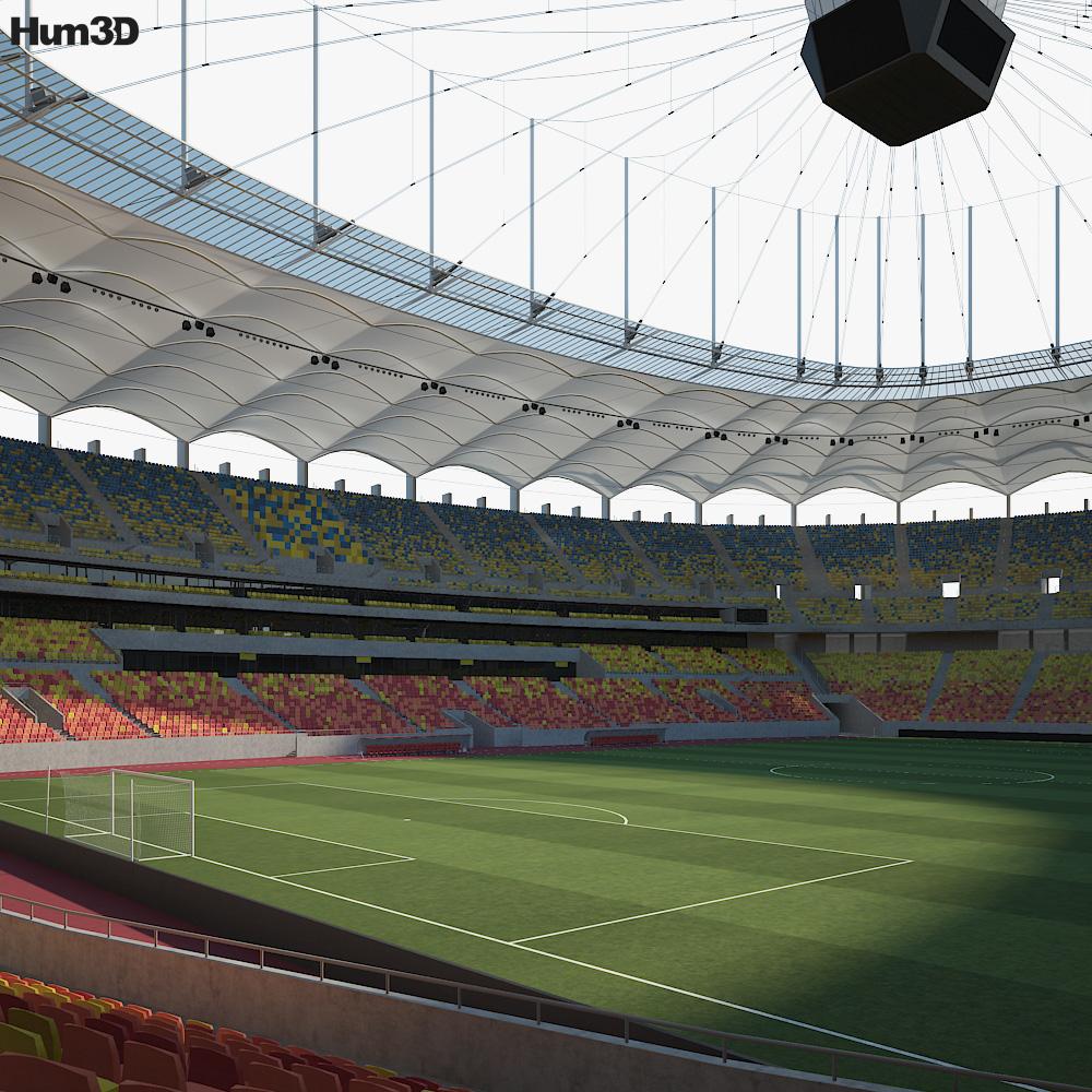 National Stadium Bucharest 3d model