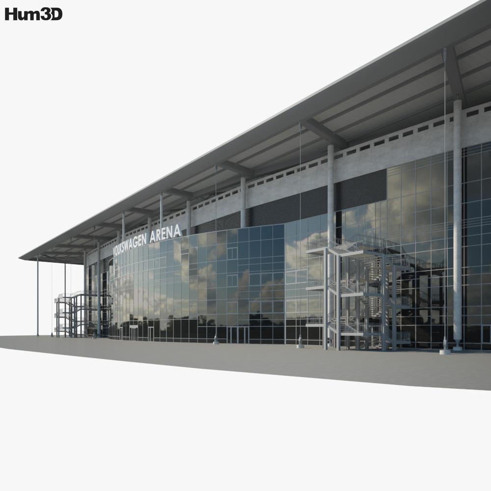 Volkswagen Arena 3d model