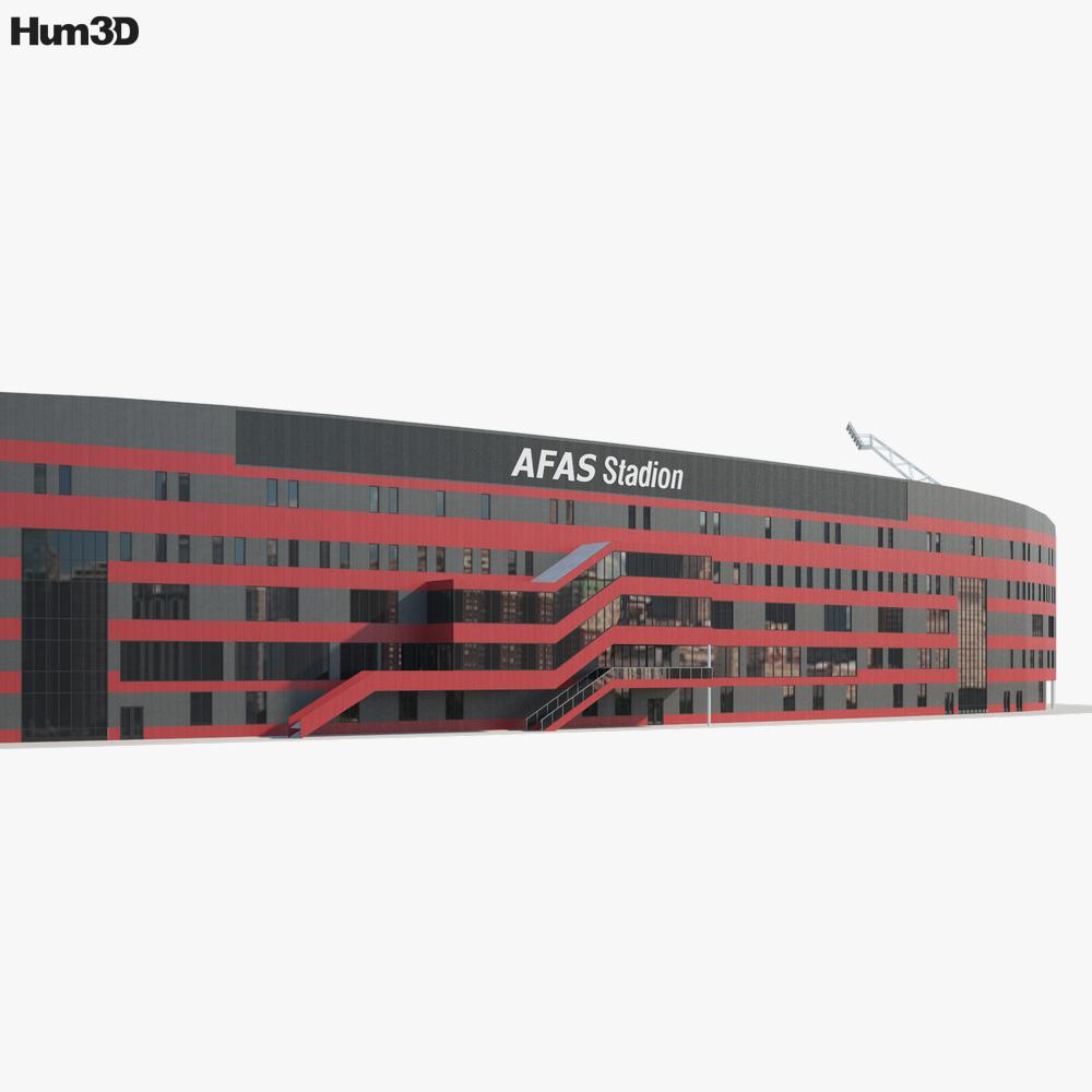 AFAS Stadion 3d model