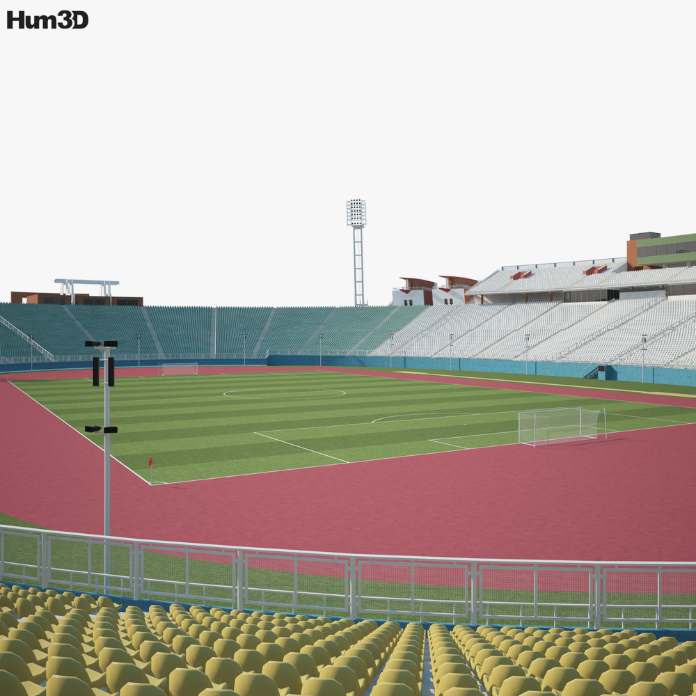Sahand Stadium 3d model