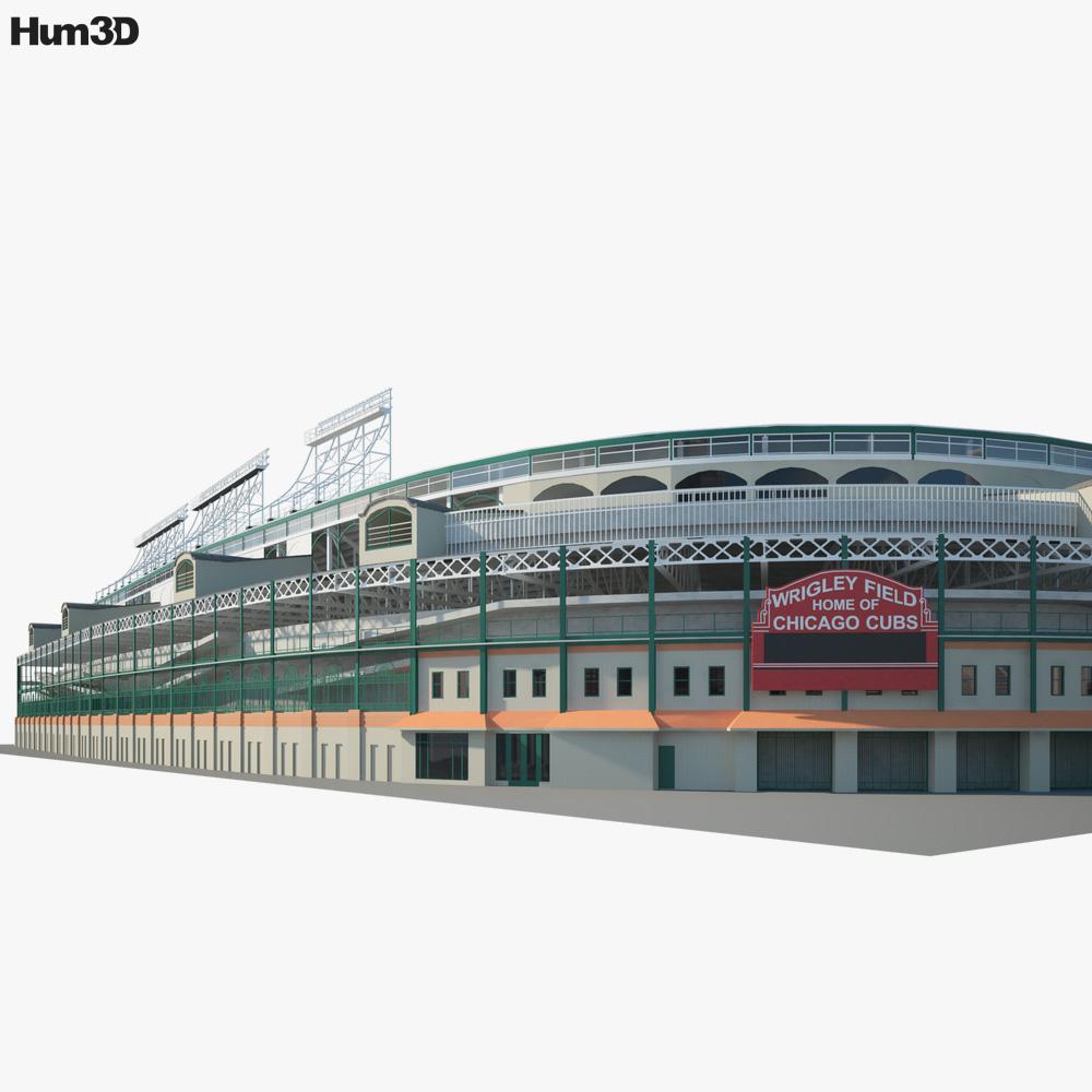 Wrigley Field 3d model