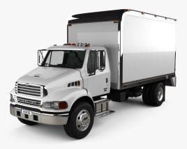 Sterling Acterra Box Truck 2002 3D model