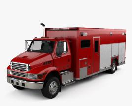 Sterling Acterra Fire Truck 2002 3D model