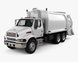 Sterling Acterra Garbage Truck 2002 3D model