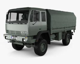 Steyr 12M18 General Utility Truck 1986 3D model