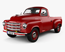 Studebaker Pickup 1950 3D model