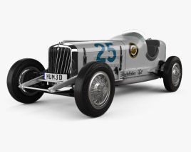 Studebaker Indy 500 1932 3D model
