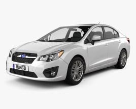 Subaru Impreza 2012 3D model