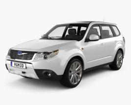 Subaru Forester Premium 2011 3D model