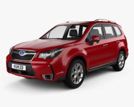 Subaru Forester (US) 2014 3D model