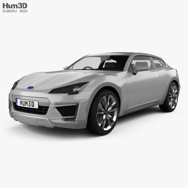 subaru cross sport 2013 3d model vehicles on hum3d. Black Bedroom Furniture Sets. Home Design Ideas