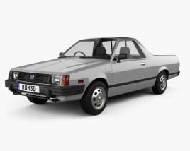 Subaru BRAT 1981 3D model