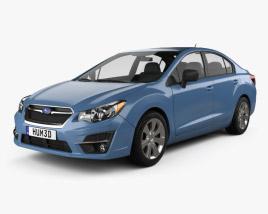 Subaru Impreza 2015 3D model