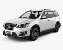 Subaru Exiga Crossover 7 2015 3D model