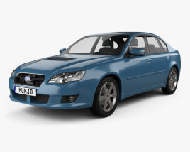 Subaru Legacy 2008 3D model