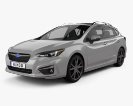 Subaru Impreza 5-door hatchback 2016 3D model