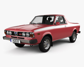 Subaru BRAT 1978 3D model