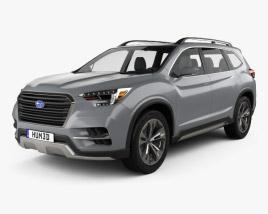 Subaru Ascent SUV 2017 3D model