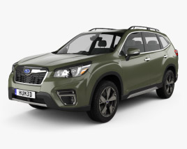 Subaru Forester Touring 2018 3D model