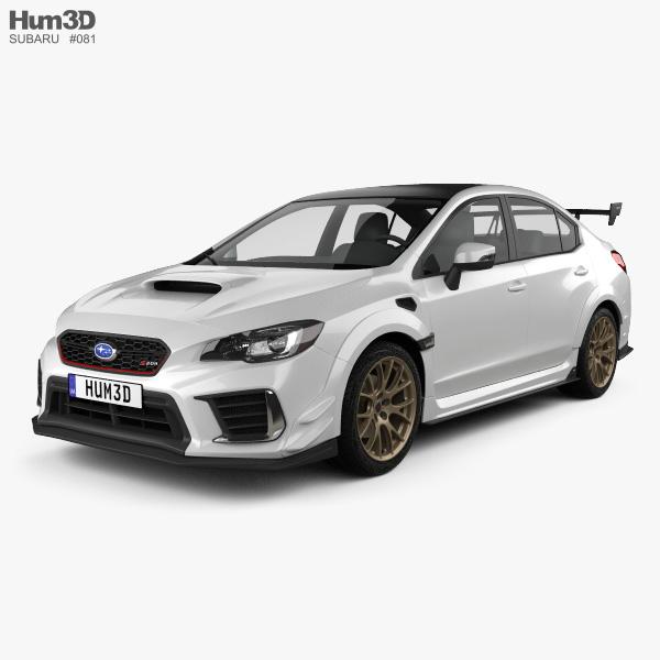 Subaru 3D Models Download