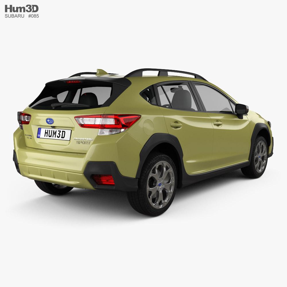 Subaru Crosstrek Sport 2021 3d model