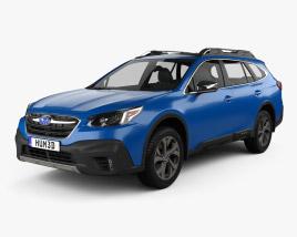 Subaru Outback Touring 2020 3D model