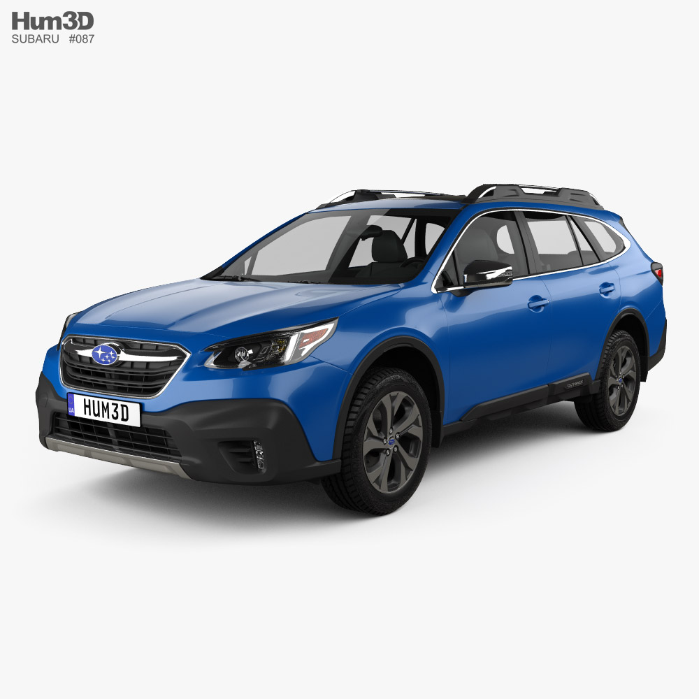 Subaru Outback Touring 2020 3d model